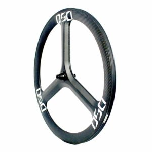 T50C Tri Spoke Front Wheel Clincher